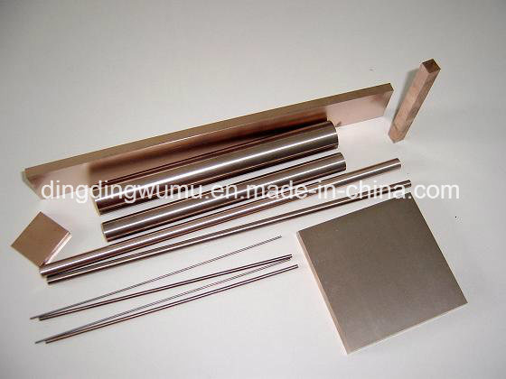 Copper Tungsten Round Bar Electrode for EDM