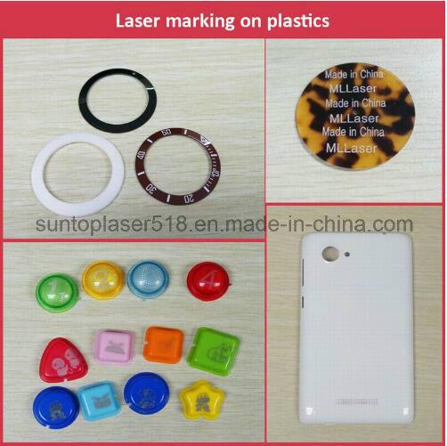 Car Keys Laser Marking Machine/Laser Marking Plastic Transparent Keypad