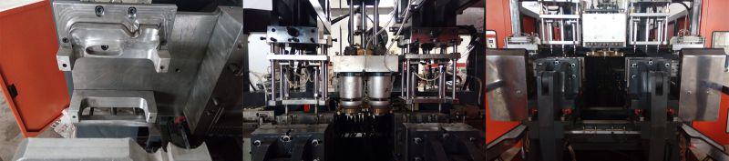 2L Plastic Extruder Bottles Blowing Machine in Oil Pump