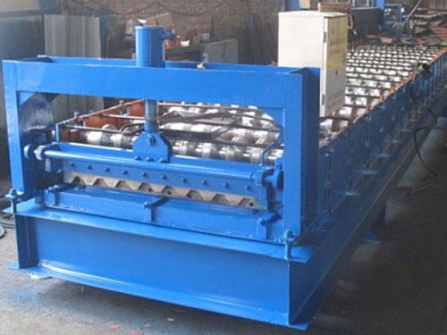 Metal Track Floor Deck Forming Machine