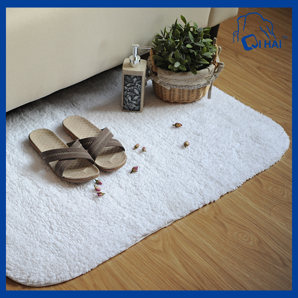 Pure Cotton Bath Mat (QH9004992)