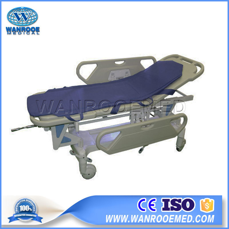 Bd111 Type II Hospital Connecting Manual Emergency Transfer Patient Bed