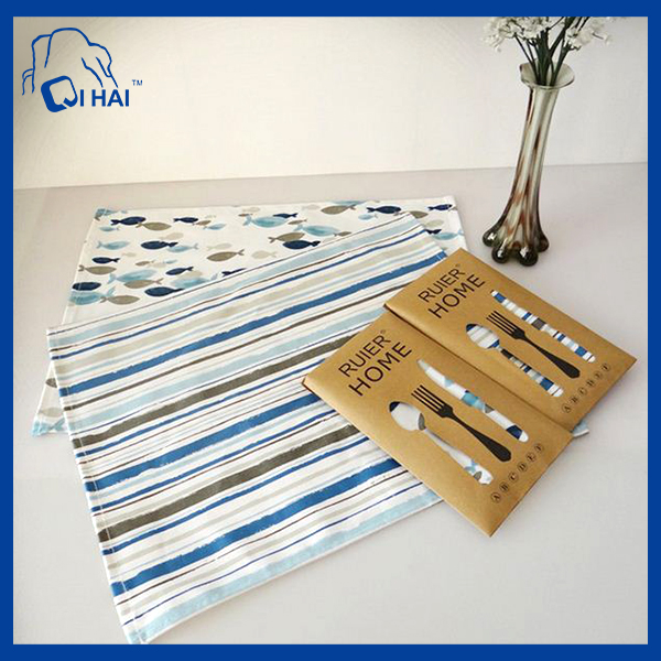 Cotton Printing Kitchen Towel (QHA01015)