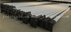 Q235 Galvanized Metal Poles for Lighting, Steel Round Pole Price for 10m Outdoor Pole