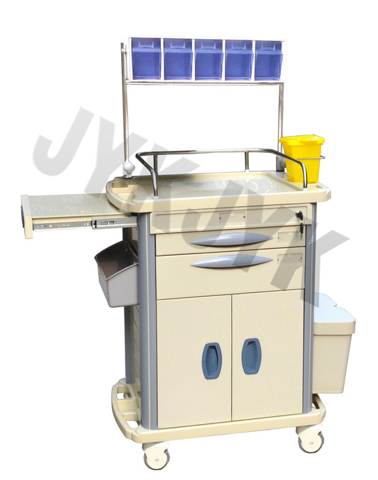 Medical Equipment, Medical ABS Trolley Anesthesia Trolley Jyk-C11b-1