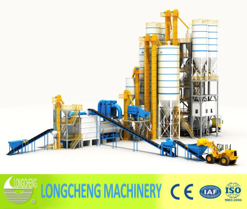 Lct Tower Type Premix Dry Mortar Production Line