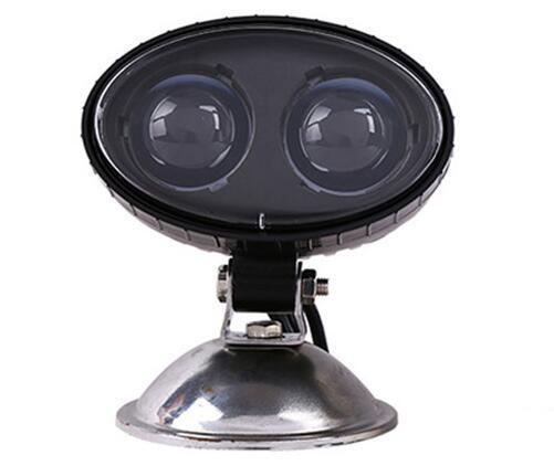 Blue Spot Point Headlight Order Picker Approaching Warning Light