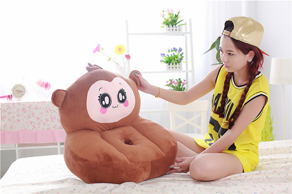 Children Plush Baby Stuffed Kids Lounge Chair Recliner Toddler Couch
