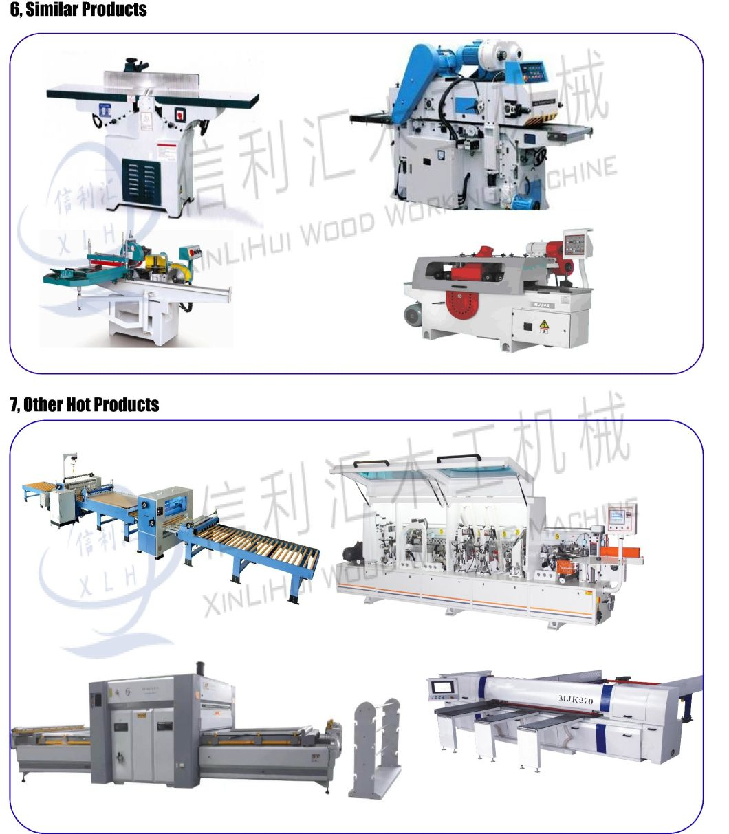 Single-Side High-Quality Pressure Planing Machine Woodworking Machine/ Wood Planer Thicknesser/ Surface Planer\Surfacer\Levelling Planer