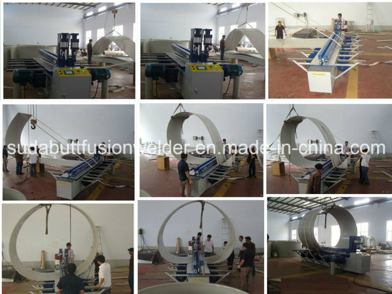 Automatic CNC Plastic Sheet Rolling Machine