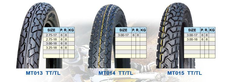 Motorcycle Tyre 3.00-18/3.00-17