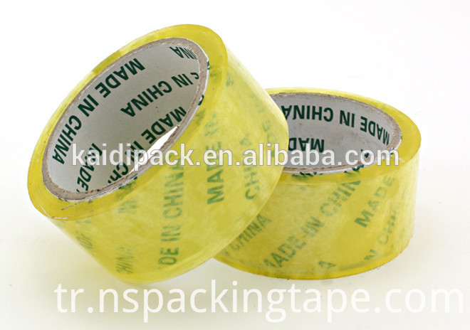 Yellowish BOPP Ahesive Tape for Machine Use