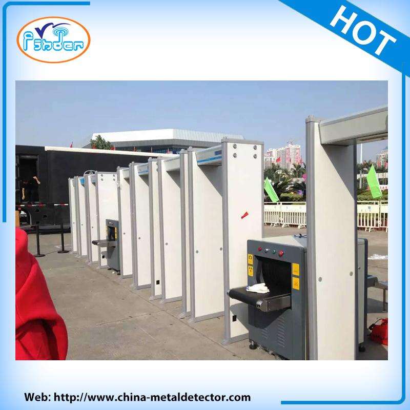 33 Zone International Safety Walk Through Gate Metal Detector