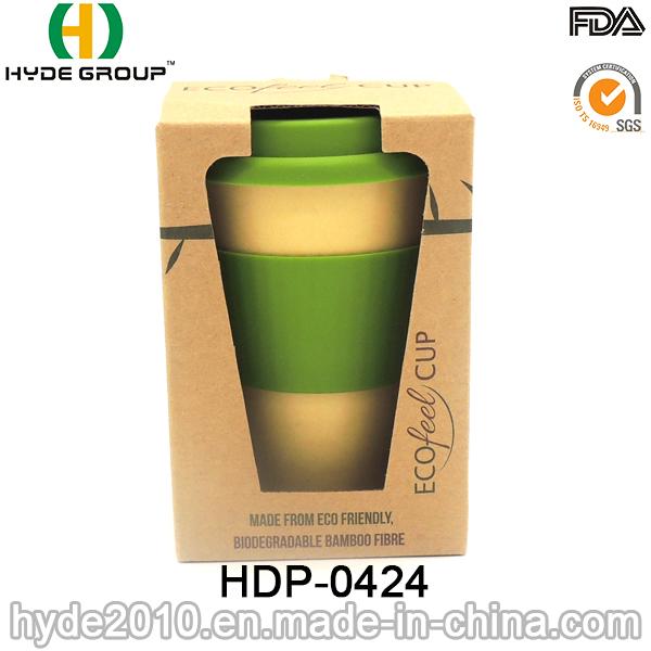 Reusable Good Quality Bamboo Fiber Cup Travel Mug (HDP-0424)