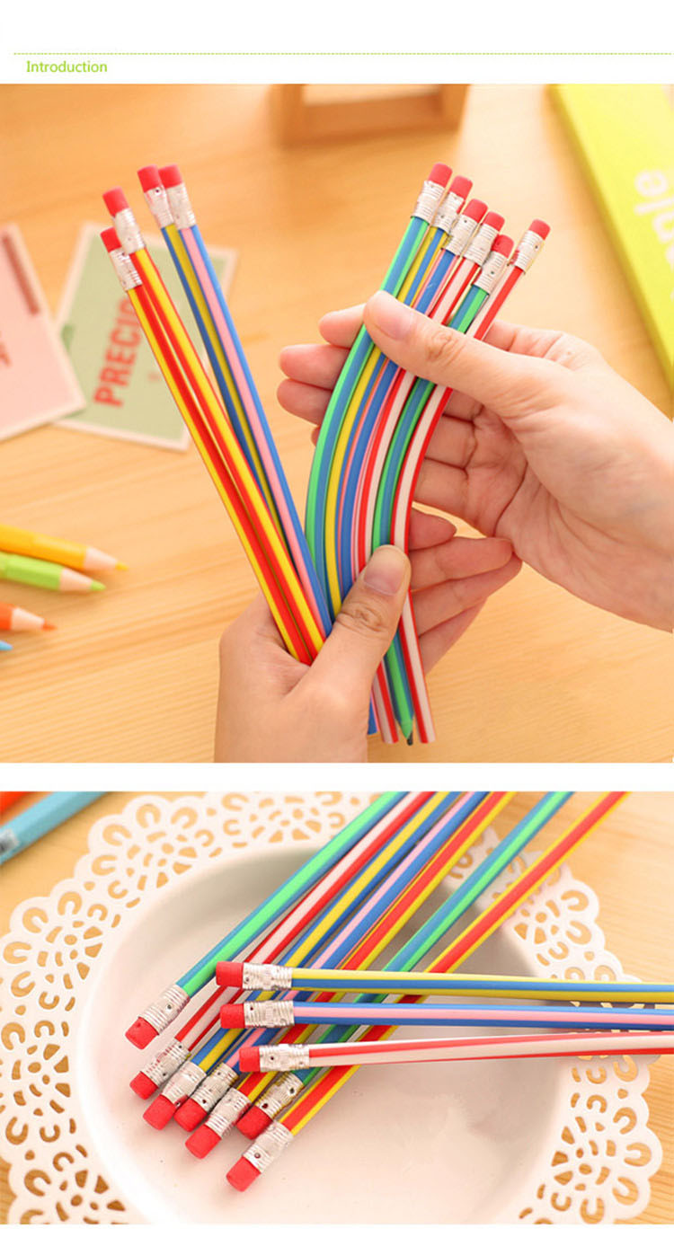 Soft Flexible Pencil for Promotion