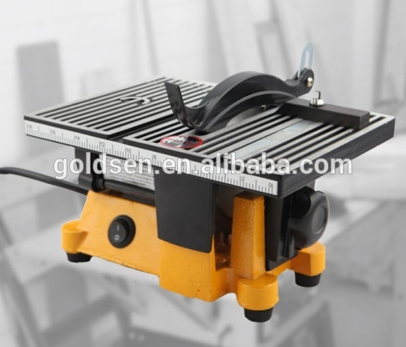 100mm 4 90w Power Hobby Craft Portable Small Bench Saw Electric