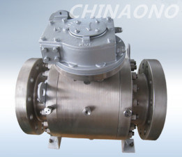 High Performance Trunnion Mounted 4 Inch Stainless Steel Ball Valve