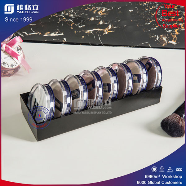 High Quality Vanity Plexiglass Cosmetic Display Powder Holder