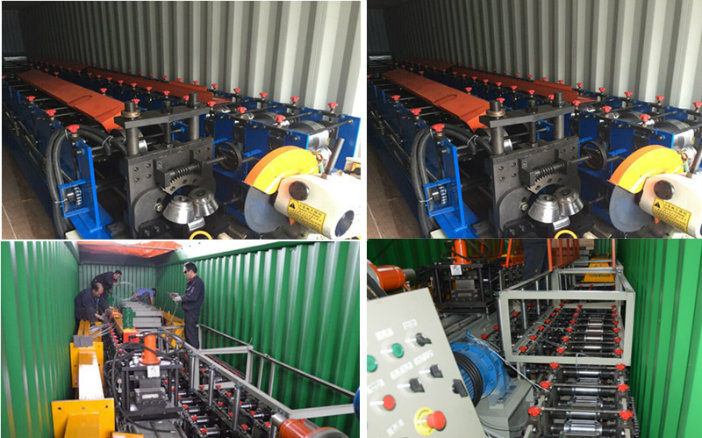 Ce and ISO Certifacation Deck Floor Roll Forming Machine