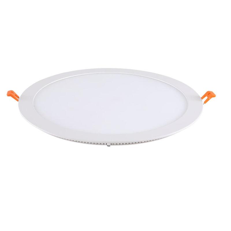 3 Year Warranty 80lm/W Round 12W LED Panel Light