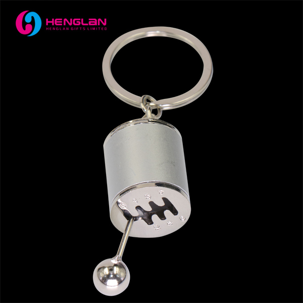 Metal Alloy Keyring 3D Car Gear Tap Position Keychain for Auto Lovers' Gift (HL-KC132)