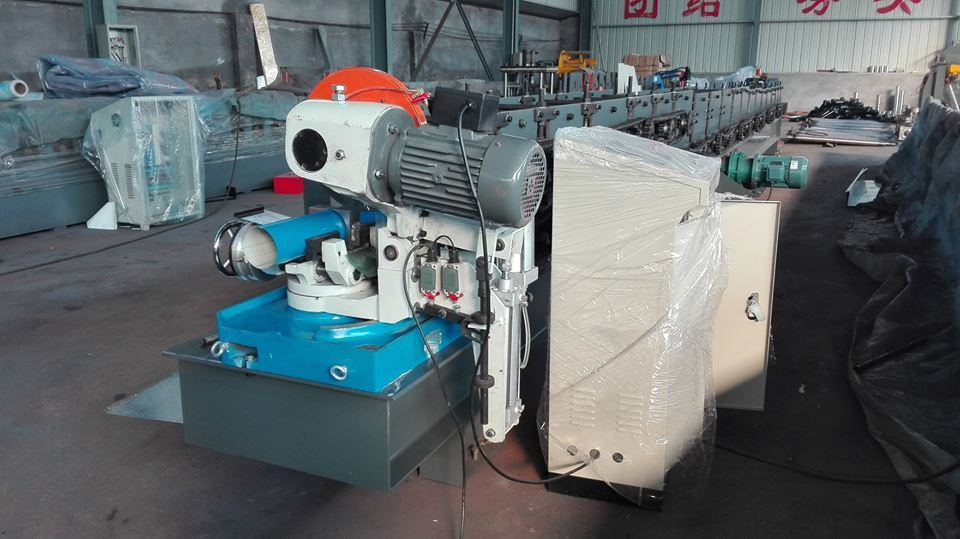 Rain Downspout Pipe Roll Forming Machine