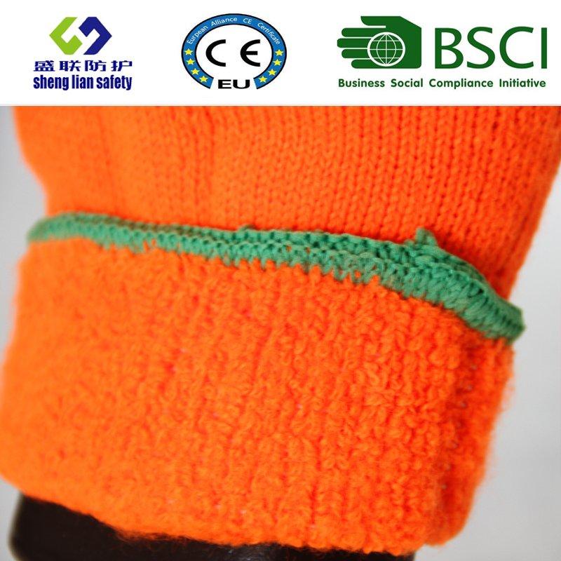 Nitrile Coating, Sandy Finish Safety Work Gloves (SL-NS120)