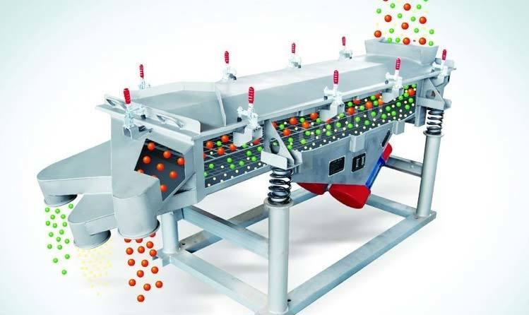 Linear Vibrating Screen Separator for Coke, Screening Machine