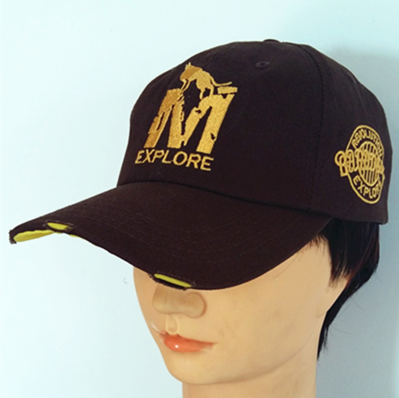 OEM Fashion Sport Hat High Quality Embroidered Cap Baseball Hat