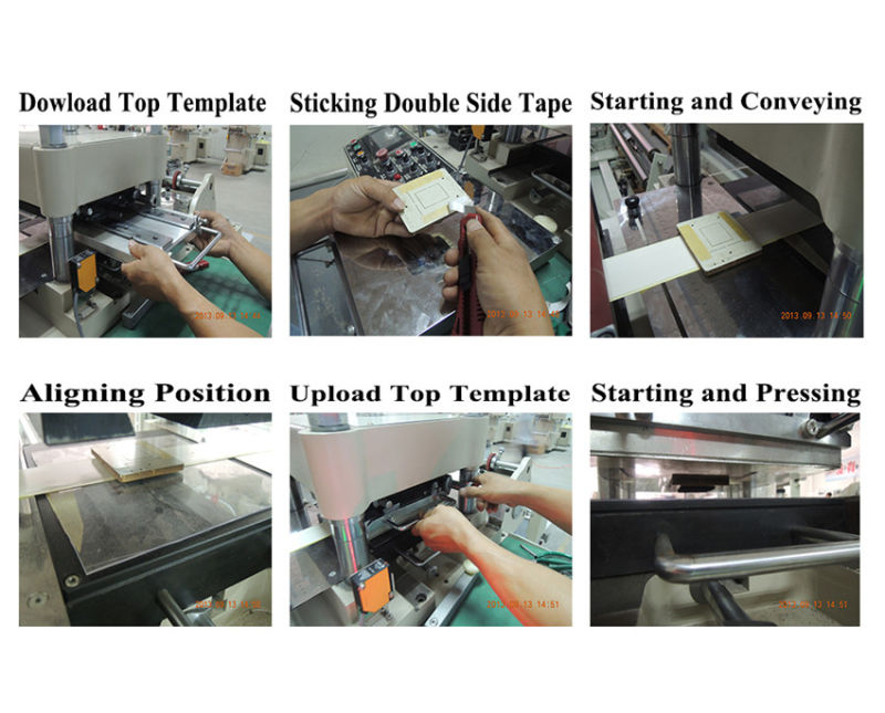 High Precision Jumping Sheet Die Cutting Machine