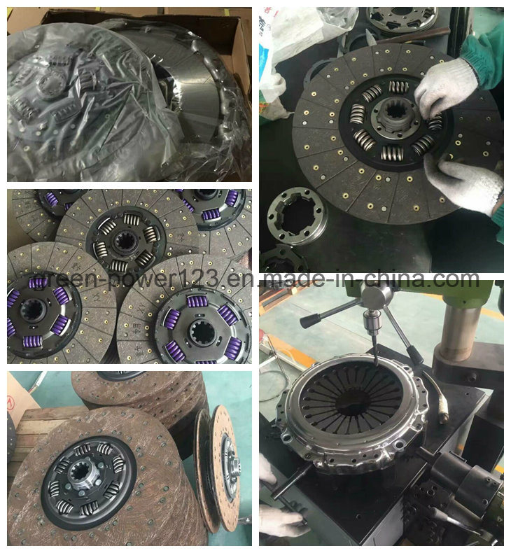 Volvo Man OEM 1878044631 1878079331 Clutch Disc