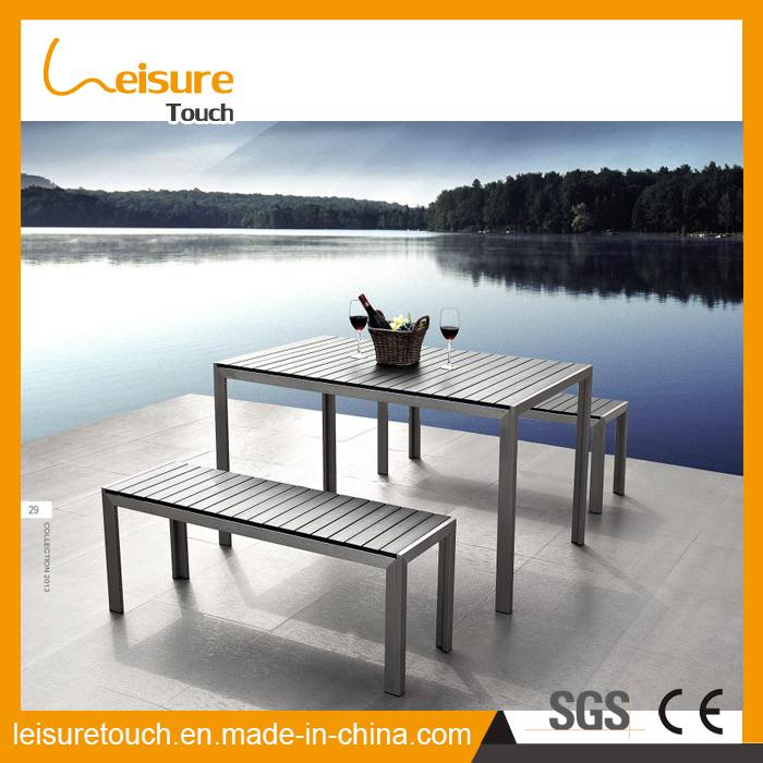 Home Hotel Customer Friendly Aluminium Modern Patio Table Set Leisure Outdoor Garden Patio Furniture