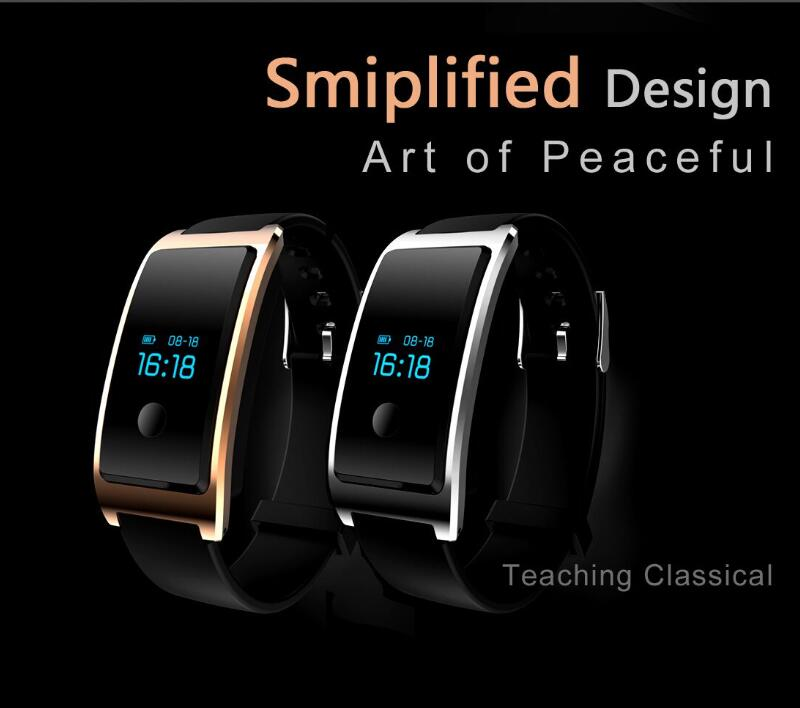 Dynamic Heart Rate Monitoring, Monitoring of Sleep, Steps, Interconnected Wechat Movement, Bluetooth Smart as One of The Smart Watch