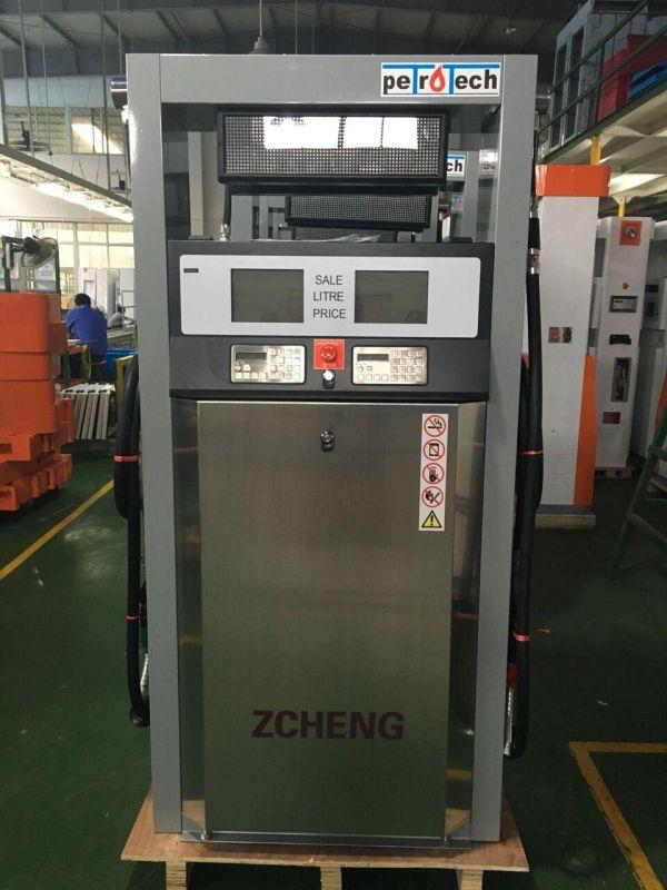 Zcheng Petrol Station Fuel Dispenser (Double Nozzle)