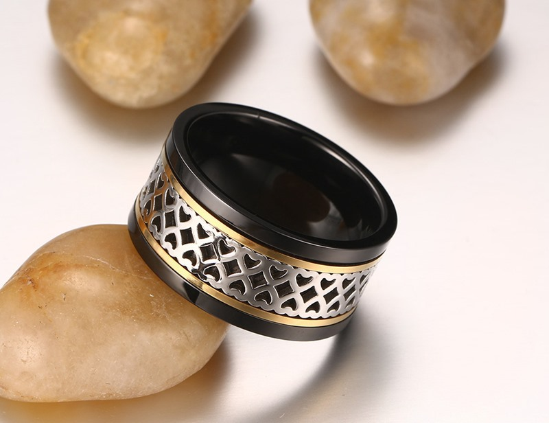 Fashion Accessories Stainless Steel Jewelry Fashion Ring (SR783)
