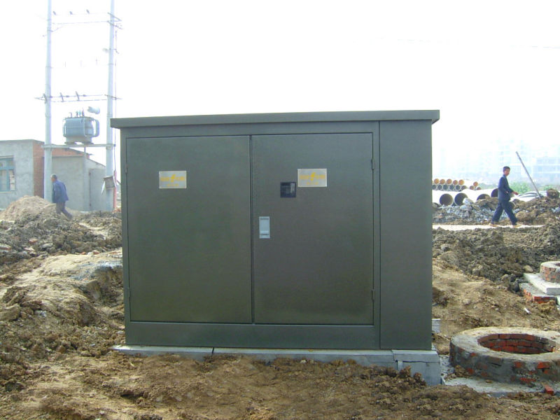 American Box-Type Distribution Power Transformer for Power Supply