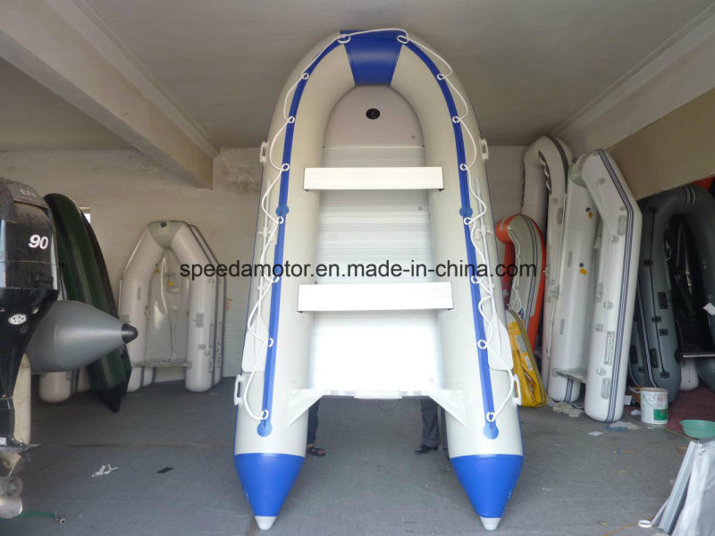 SD420 PVC Rescue Inflatable Motor Boat