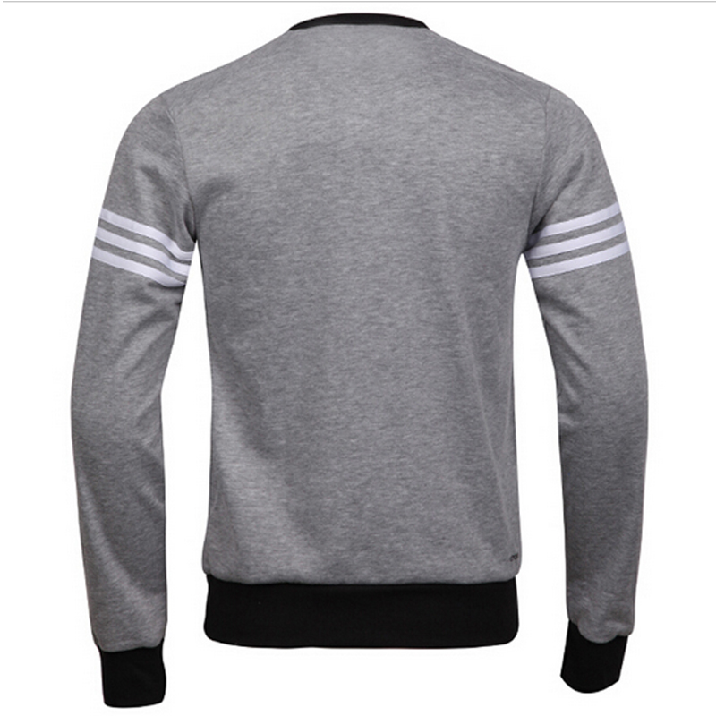 Custom Knitted Windproof Stringer Fleece Men's Crewneck Hoodies&Swearshirts