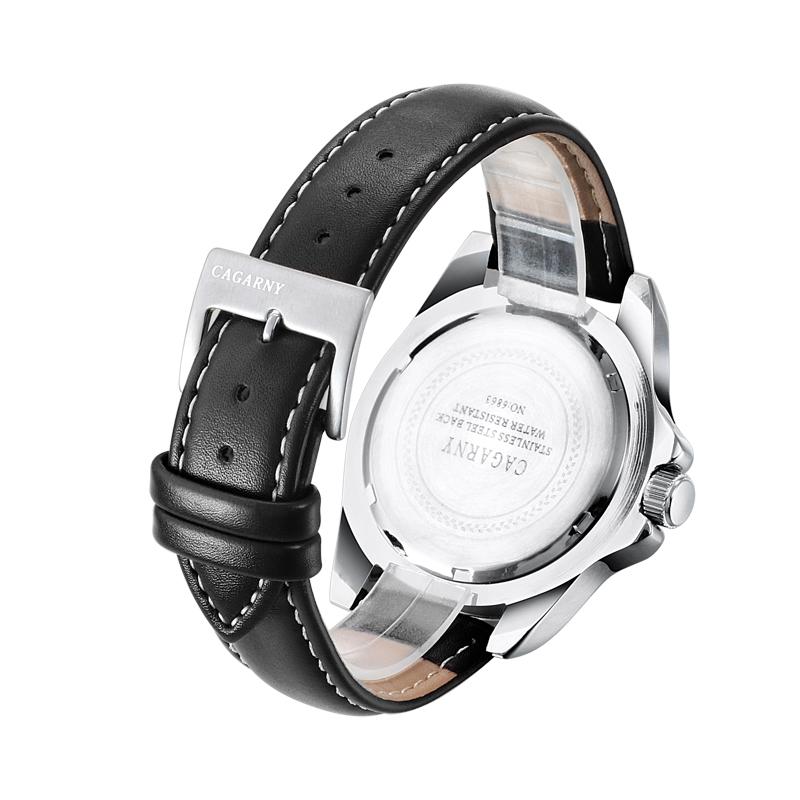 Fashion Mens Unmeral Dial Wristwatch