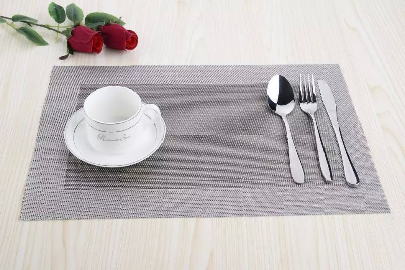 High Quality PVC Woven Kitchen Placemat