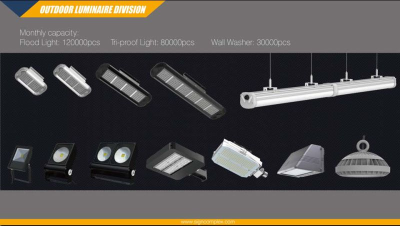 16 Colors Dimmable Waterproof 10W RGB LED Flood Light with Ce RoHS 3 Warranty Years