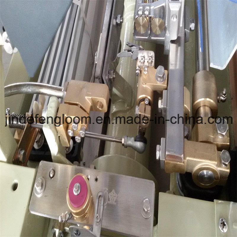 Four Nozzle Double Pump Waterjet Weaving Loom with Etu+Elo