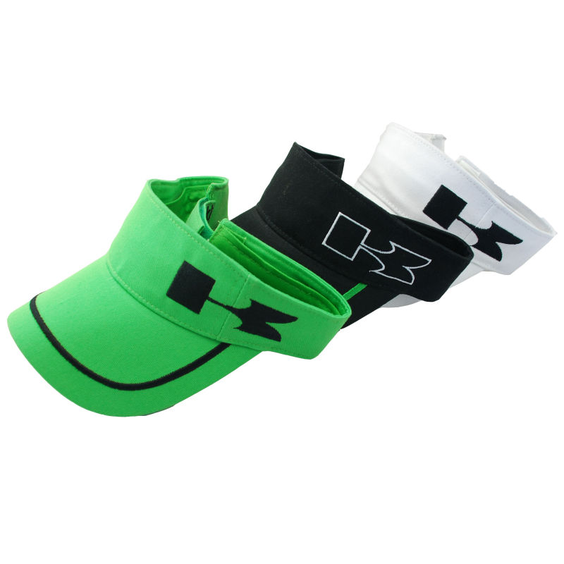 Terry Cloth Sweatband Long Bill Clip-on Sports Golf Visor (TRV016)