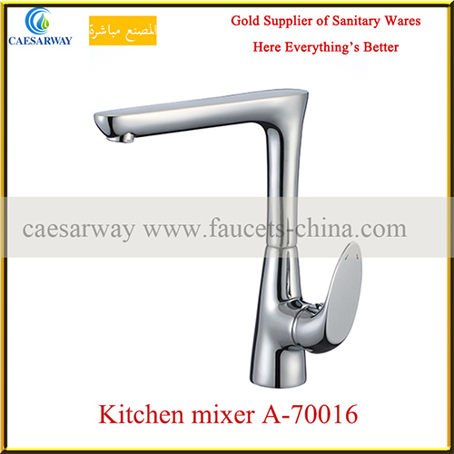 Brass Kitchen Mixer with Ce Approved for Kitchen