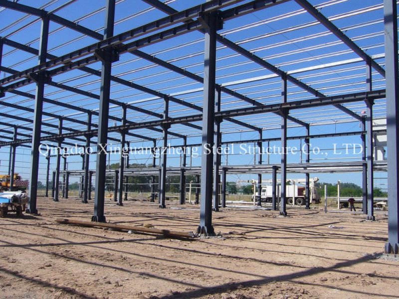 High Quality Light Steel Prefabricated Warehouse with Ce Certification (SSW-14344)