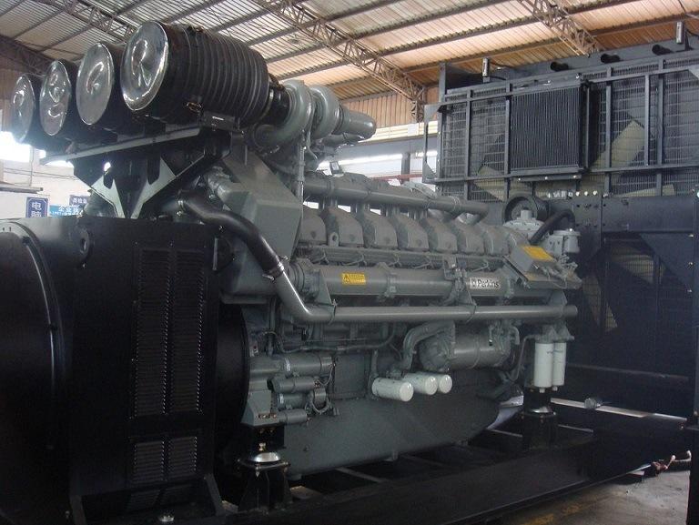 2500kVA 2000kw Standby Power UK Engine Drived Diesel Generator