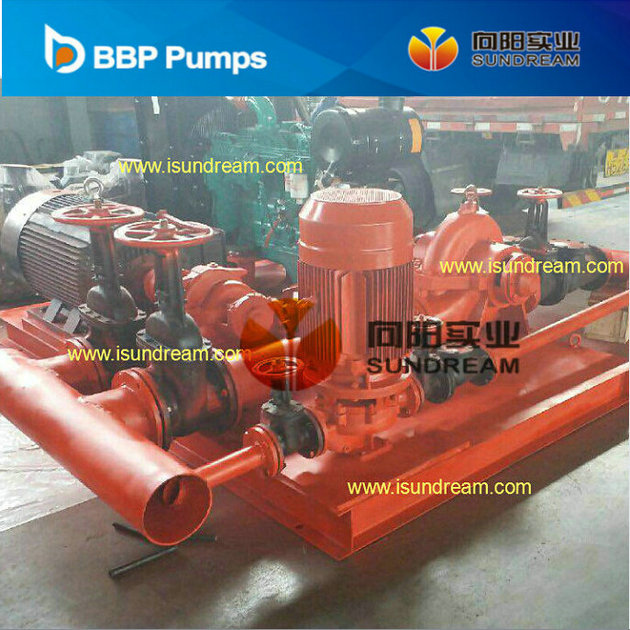 Diesel Engine Driven & Electric Motor Driven Fire Fighting Centrifugal Water Pump