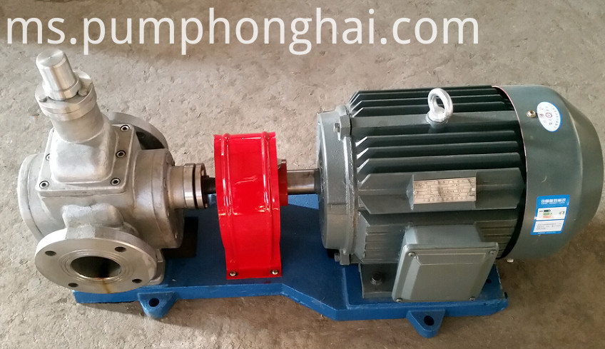 YCB high pressure diesel fuel transfer arc gear pump