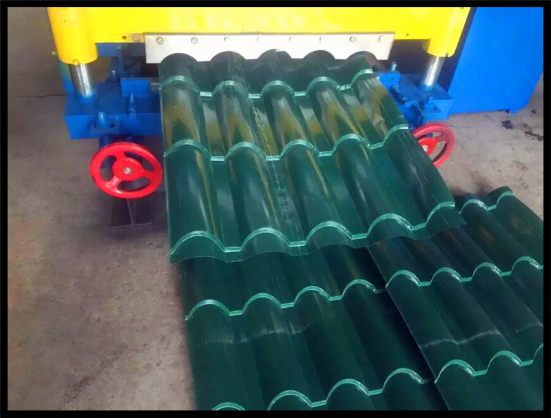Fast Speed Roof Glazed Tile Sheet Roll Forming Machine New Product