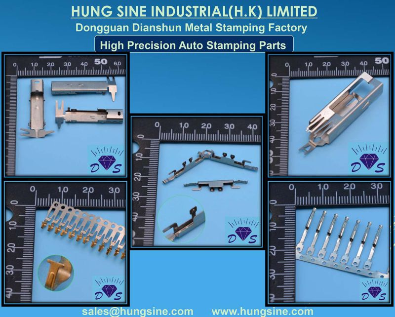 Manufacturer High Precision Stamping Copper Reel Terminal